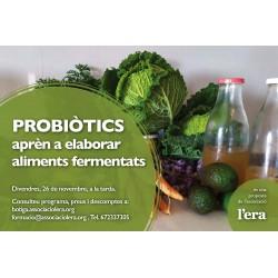 Probiòtics. Aprèn a elaborar aliments fermentats