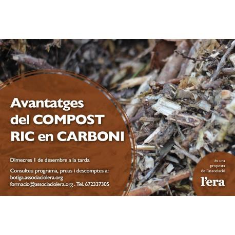 Avantatges del compost ric en carboni
