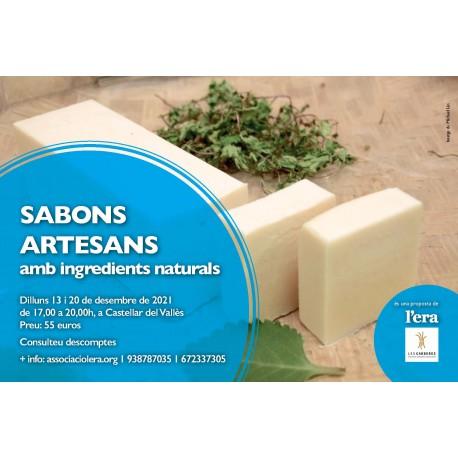 Sabons artesans amb ingredients naturals