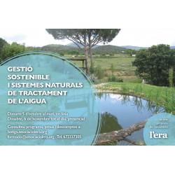 Gestió sostenible i sistemes naturals de tractament de l'aigua
