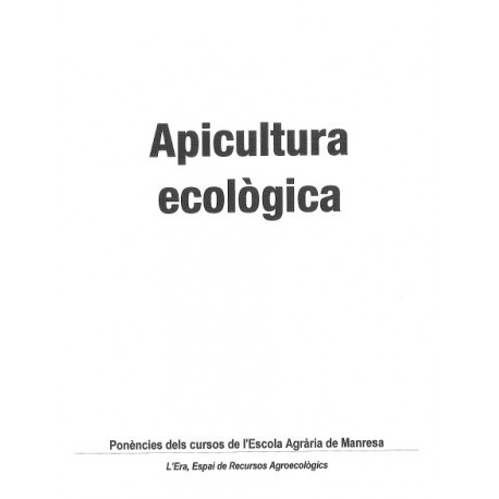Apicultura Ecològica